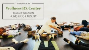 Katherine Hamer singing bowls Wellness RX Center