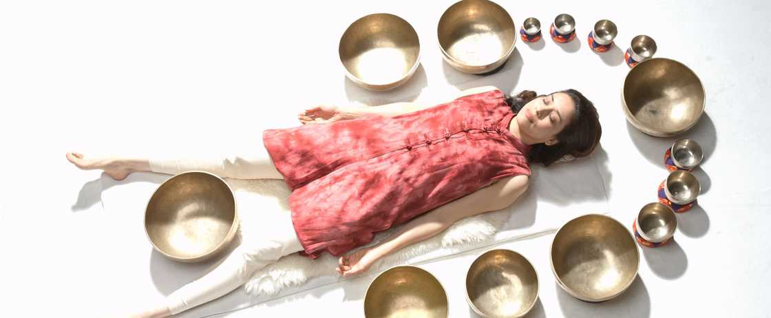 Singing Bowl Healer, Suren Shrestha in NYC 2017