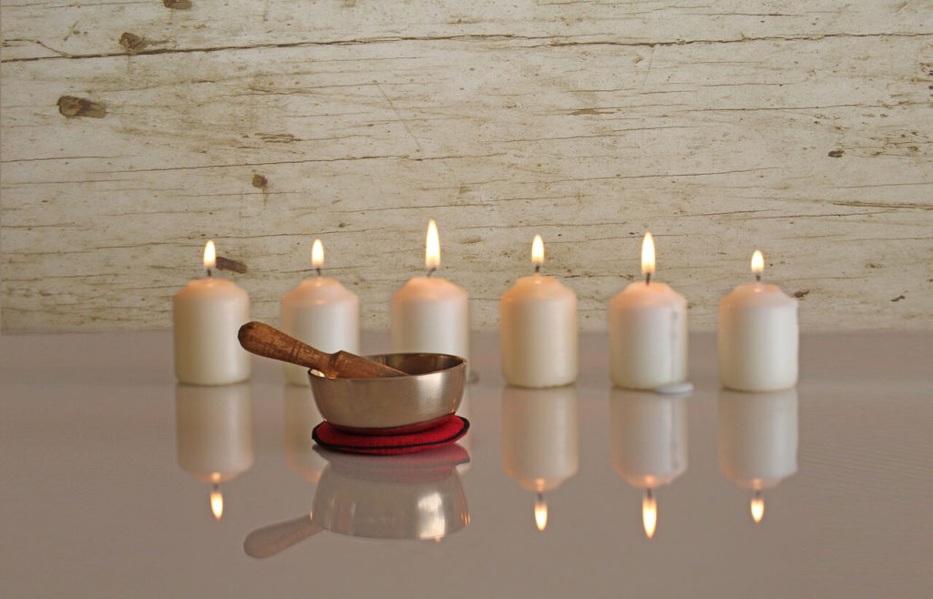 Candlelight Restorative Yoga & Tibetan Singing Bowl Workshop