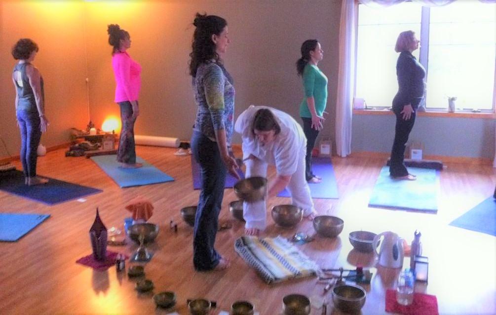 Candlelight Yoga and Singing Bowls, Windham NY